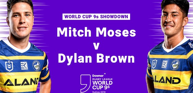Moses and Brown bring the banter ahead of Nines showdown