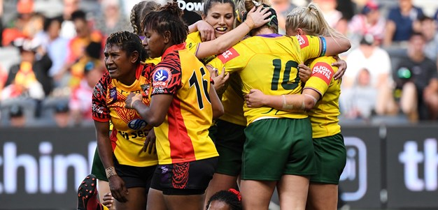 Match Highlights: Jillaroos v PNG Orchids