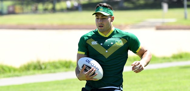 Cotric breaks ice with Roosters in Kangaroos camp