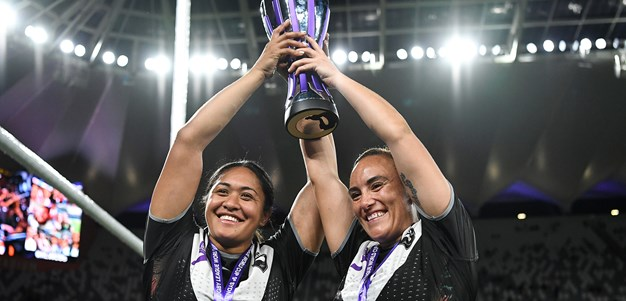 Kiwi Ferns after another scalp before returning home