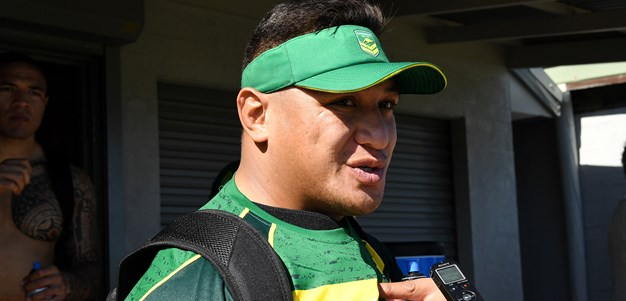 Kangaroos to make call on Papalii on Thursday