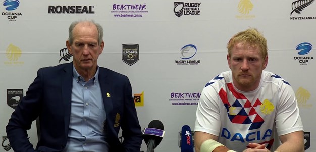Great Britain press conference