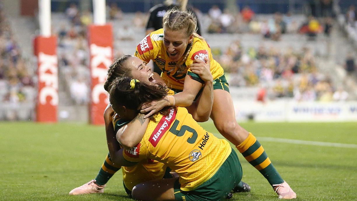 Full Match Replay: Jillaroos v Ferns - Round 2, 2019