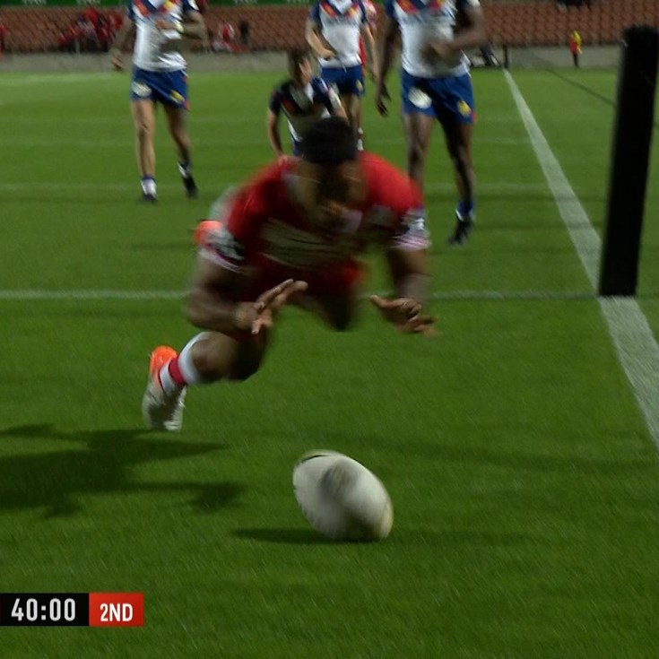 Tonga produce truly epic try