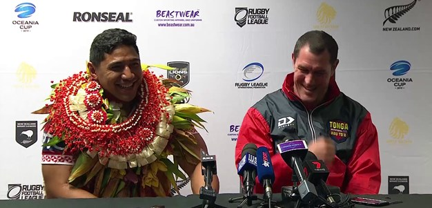 Tonga Invitational press conference