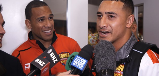 'We're number one': Taukeiaho crashes Hopoate press conference