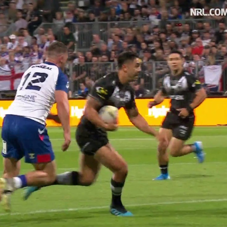 Johnson slices through the Lions