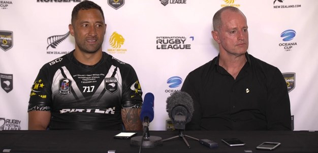 New Zealand press conference