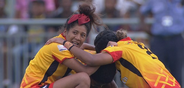 Match Highlights: PNG Orchids v England