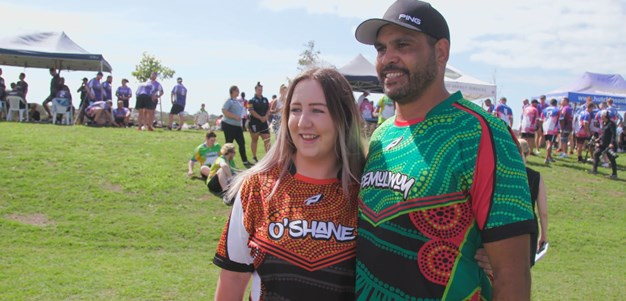 Former Indigenous stars create connections for the next generation