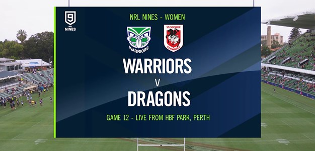Full Match Replay: Warriors v Dragons - Round 2, 2020