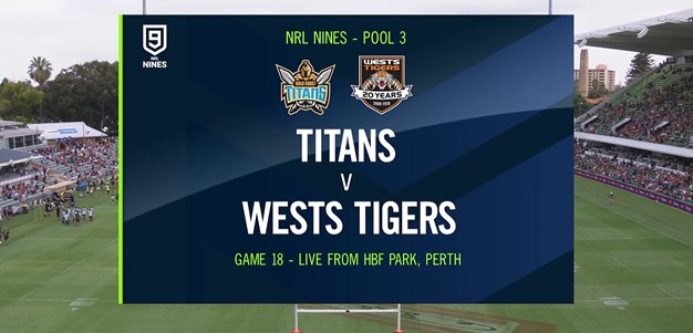 Full Match Replay: Titans v Wests Tigers - Round 2, 2020