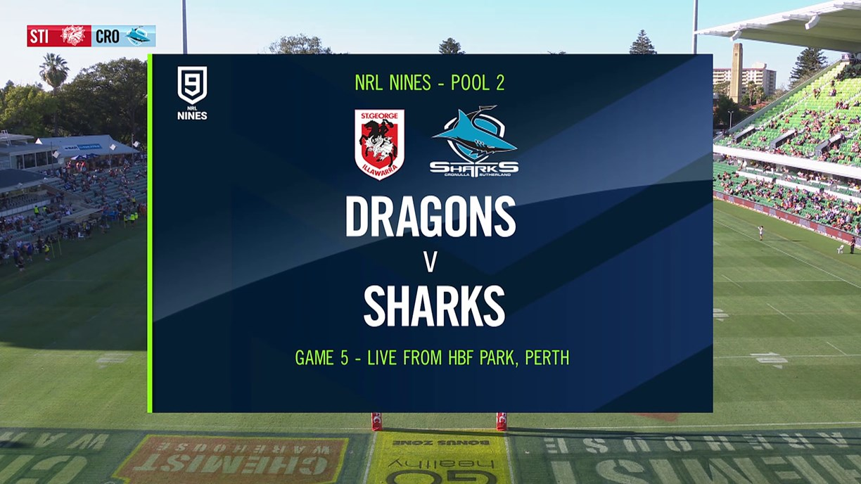 Full Match Replay: Dragons v Sharks - Round 1, 2020