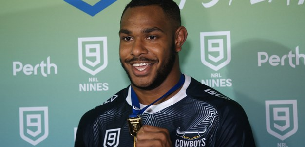 Hammer time shines as Cowboys win second Nines title
