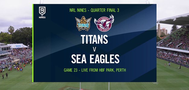 Full Match Replay: Titans v Sea Eagles - Quarter Finals, 2020