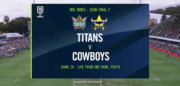 Full Match Replay: Titans v Cowboys - Semi Finals, 2020