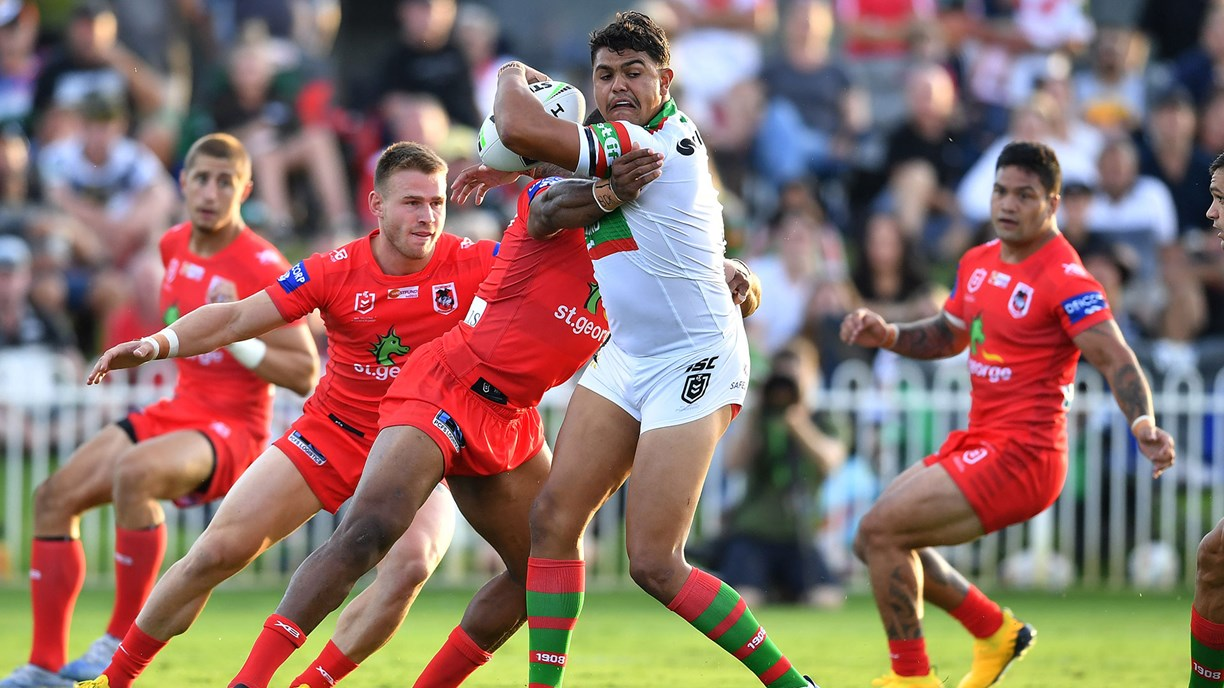 Nrl 2020 South Sydney Rabbitohs Too Strong For Dragons In Charity Shield Nrl