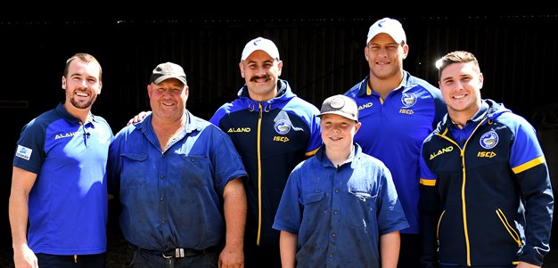 Eels brotherhood inspires farmer after double tragedy