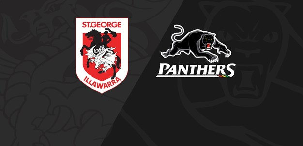 Full Match Replay Dragons v Panthers  Round 2 2020
