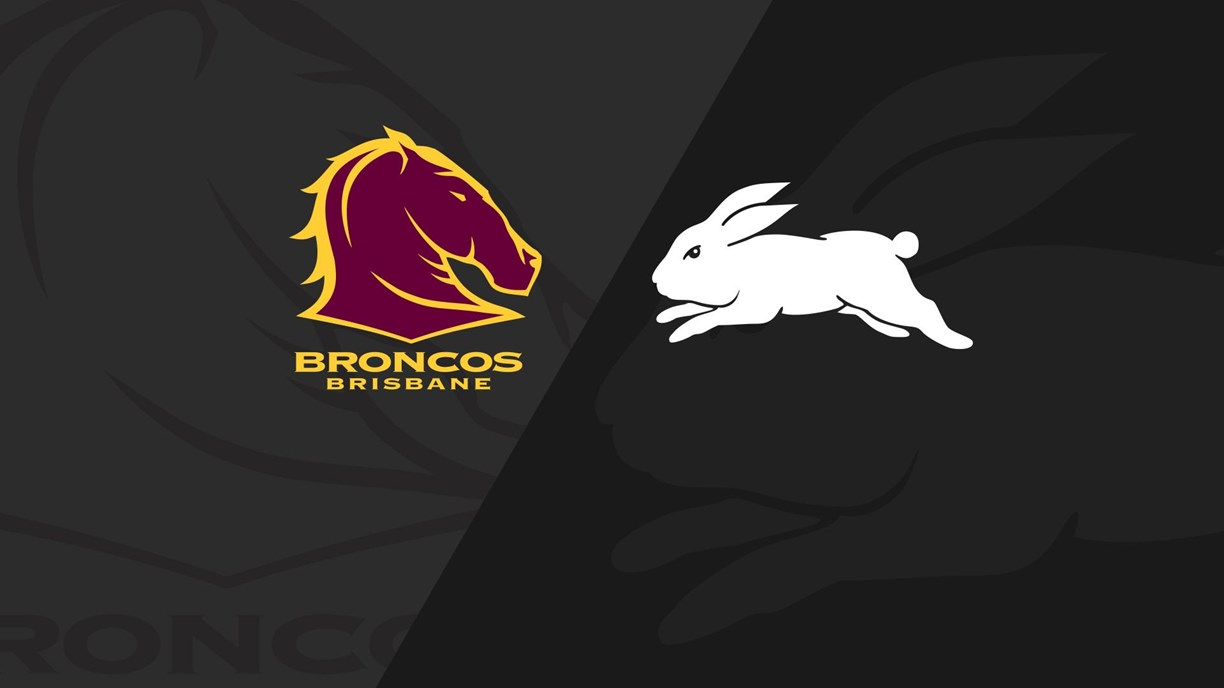 Full Match Replay Broncos v Rabbitohs  Round 2 2020