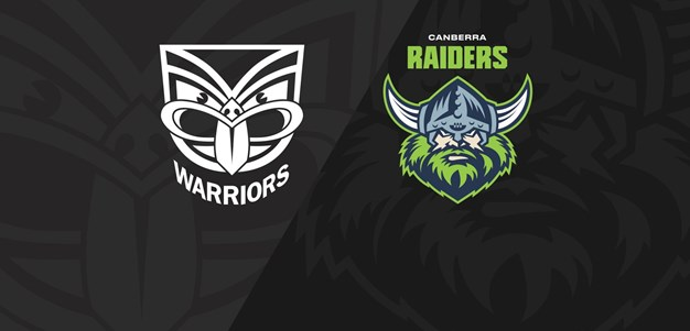 Full Match Replay Warriors v Raiders  Round 2 2020