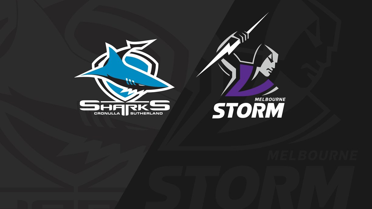 Full Match Replay Sharks v Storm  Round 2 2020