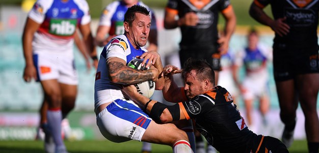 Extended Highlights: Wests Tigers v Knights