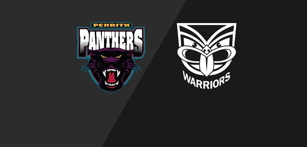 Panthers v Warriors - Preliminary Final, 2003
