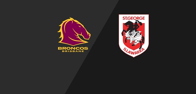 Broncos v Dragons - Semi Final, 2011