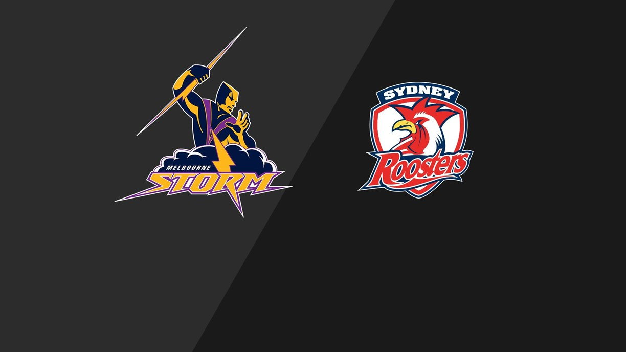 Storm v Roosters - Round 10, 2001