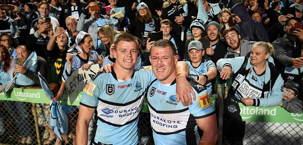 Last time they met: Sea Eagles v Sharks - Qualifying final, 2019