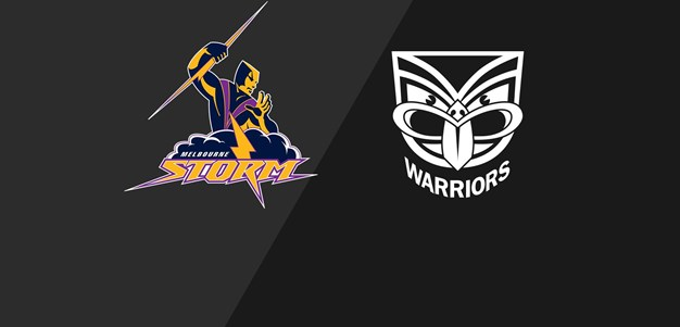 Storm v Warriors - Qualifying Final, 2008