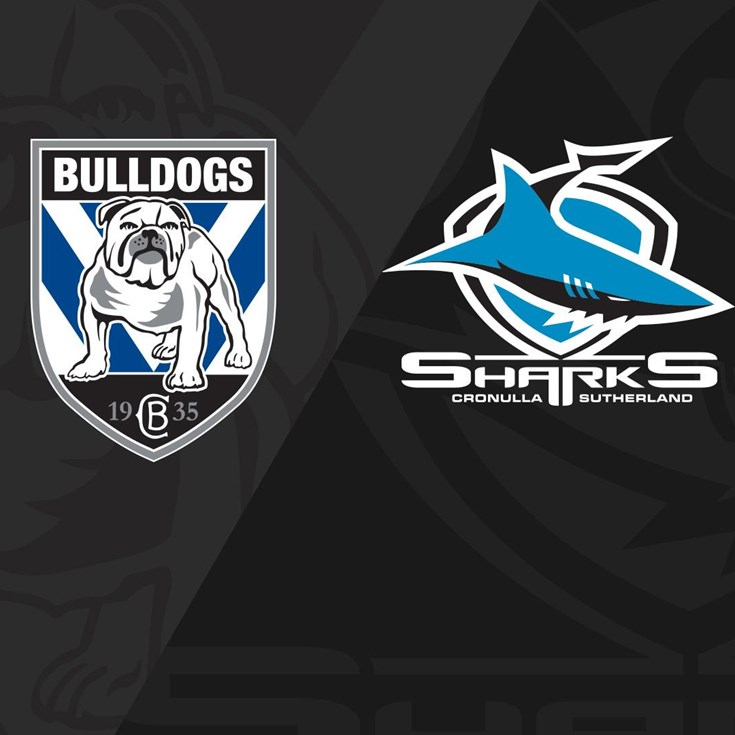 Bulldogs v Sharks - Round 20, 2015