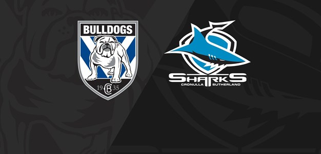 Full Match Replay Bulldohs v Sharks Round 20 2015