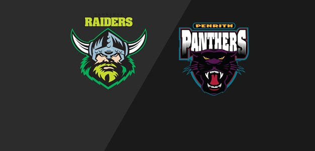 Full Match Replay Raiders v Panthers Round 22 2008