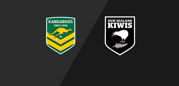 Full Match Replay Kangaroos v Kiwis Anzac Test 2013