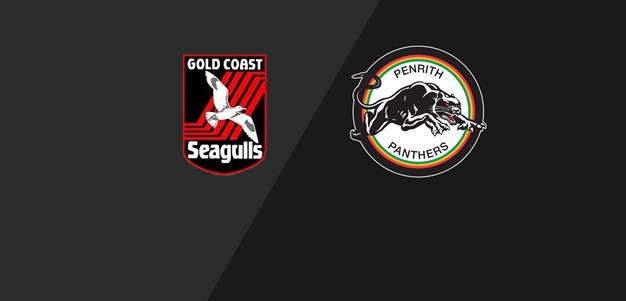 Seagulls v Panthers - Round 22, 1992