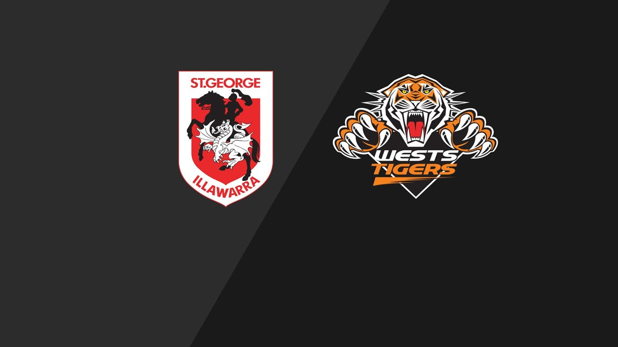 Dragons v Wests Tigers - Preliminary Final, 2010