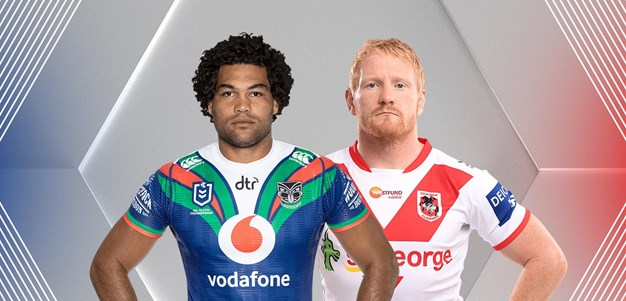 Warriors v Dragons - Round 3