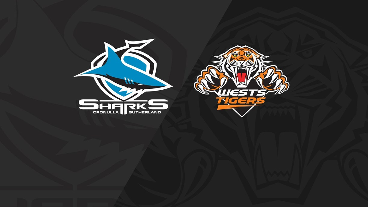 Full Match Replay: Sharks v Wests Tigers - Round 3, 2020
