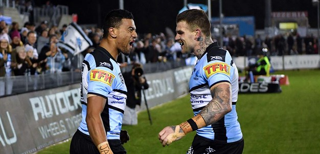 Last time they met: Sharks v Cowboys - Round 19, 2019