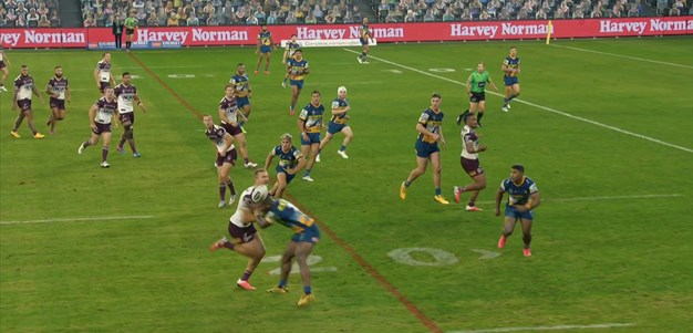 Manly's final play raid called back for forward pass