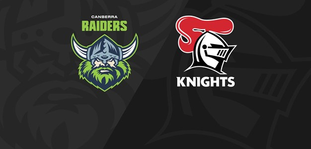 Full Match Replay: Raiders v Knights - Round 4, 2020
