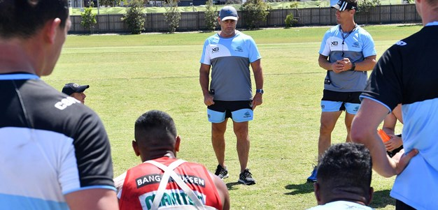 Sharks players fired up to play old coach