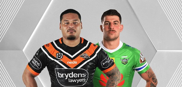 Wests Tigers v Raiders - Round 5