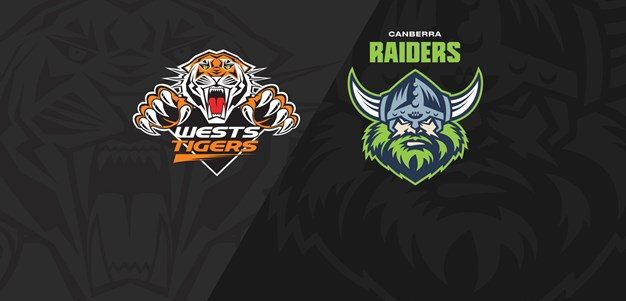 Full Match Replay: Wests Tigers v Raiders - Round 5, 2020