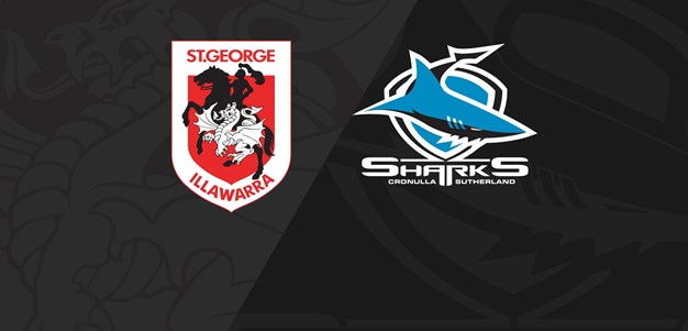 Full Match Replay: Dragons v Sharks - Round 5, 2020