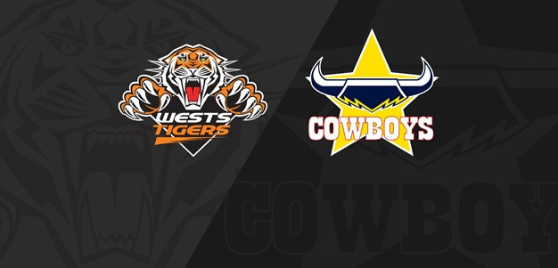 Full Match Replay: Wests Tigers v Cowboys - Round 6, 2020