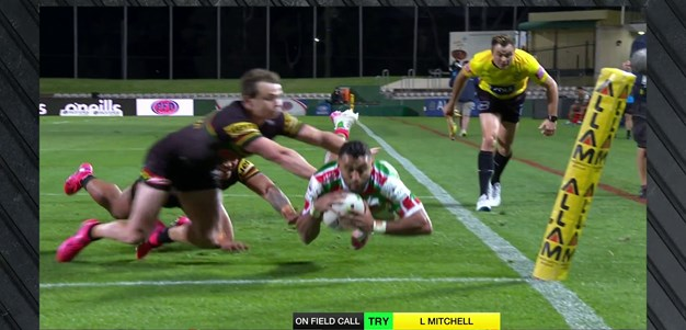 Johnston gets a late try for South Sydney