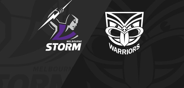 Full Match Replay: Storm v Warriors - Round 7, 2020